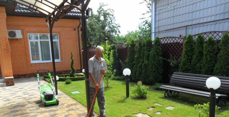 Частное озеленение Краснодар