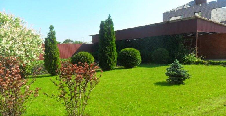 Частный сад в Кореновске